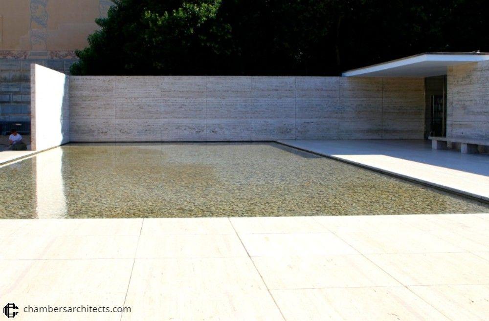 Mies Van de Rohe: 1929 Barcelona Pavilion