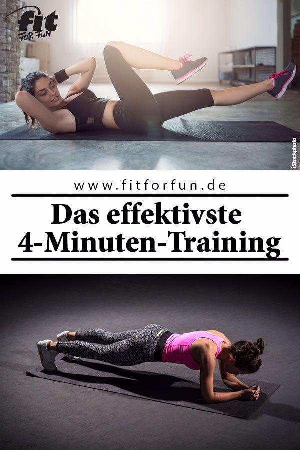 4 Minuten Tabata-Training können genau so effektiv sein wie eine Stunde auf dem Crosstrainer. Wir ve...