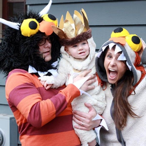 Wild Side My Future Pinterest Halloween costume for couples - family halloween costume ideas with baby