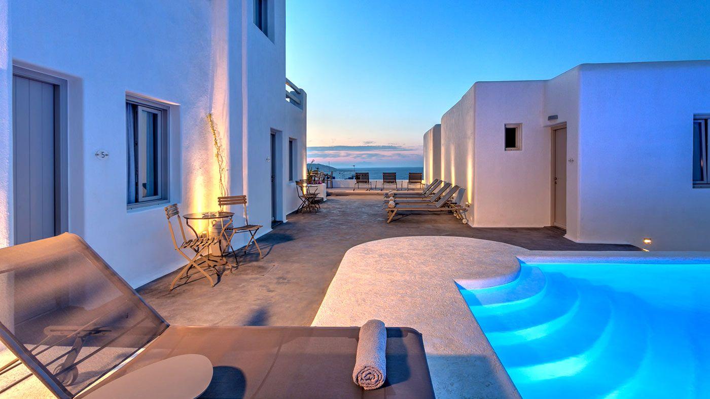 Hotel Papadakis In Paros Naoussa Greece