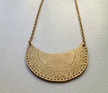 Mor-Rockin Metal Necklace