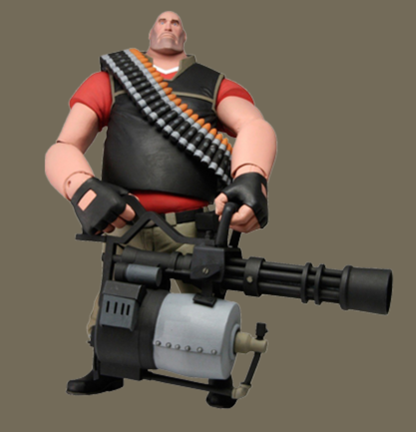 Red Heavy Action Figure Http Store Valvesoftware Com Product Php I Ftf206 Action Figures Team Fortress Team Fortress 2