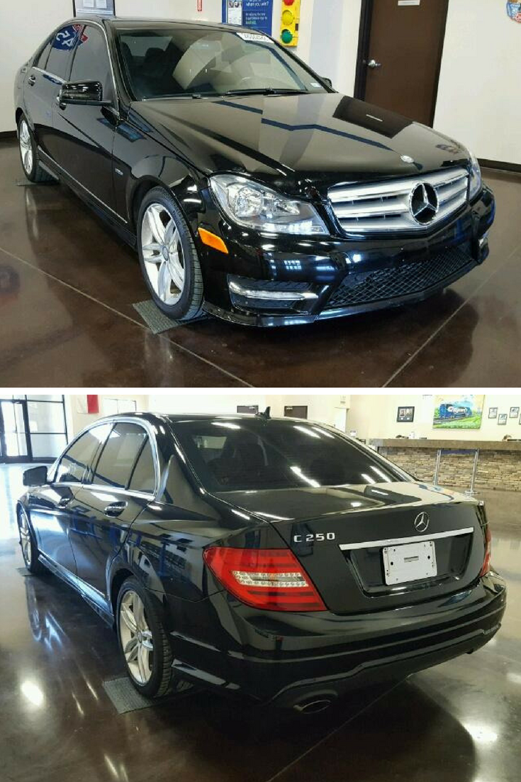 Bid On This 2012 Mercedes Benz C 250 From Drive Auto Auctions On Monday March 26 2018 Car Auctions Mercedes Benz Luxury Cars