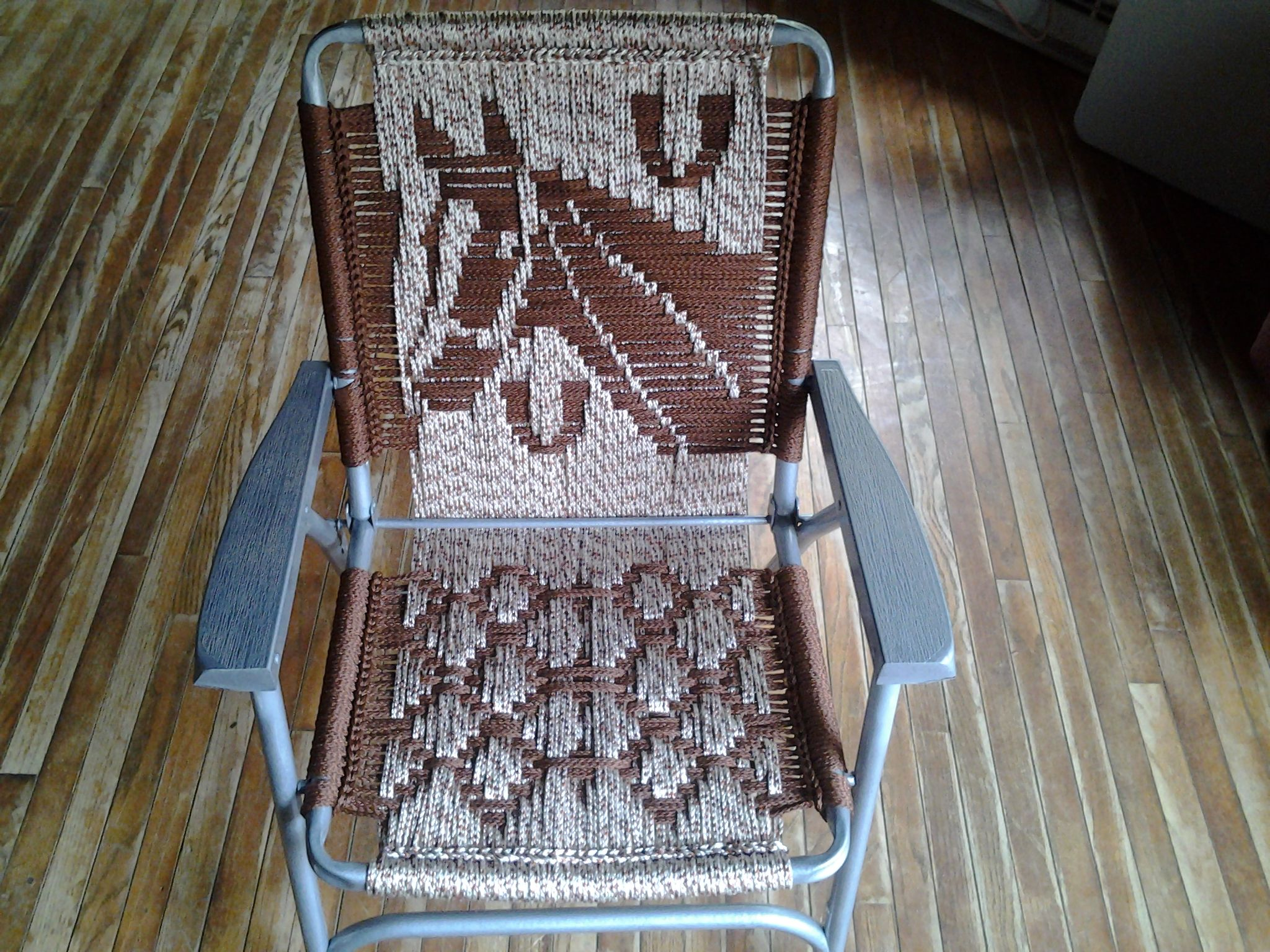 Macrame Lawn Chair per easy That s clever