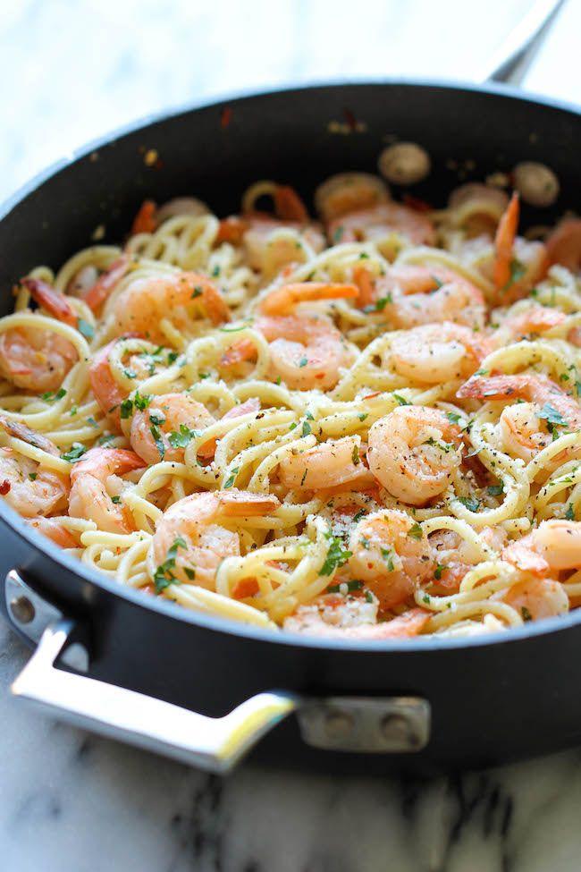 Shrimp Scampi #easyshrimprecipes