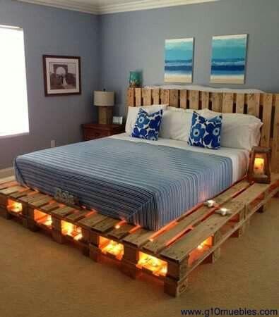 dormitorio | DIY | Pinterest | Dormitorio, Camas y Palets