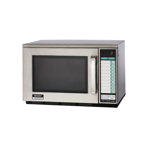Sharp R22gt Heavyduty 1200w Commercial Microwave You Can Find More Details By Visiting The Image Link This Link Participates In A Microwave Microwave Oven
