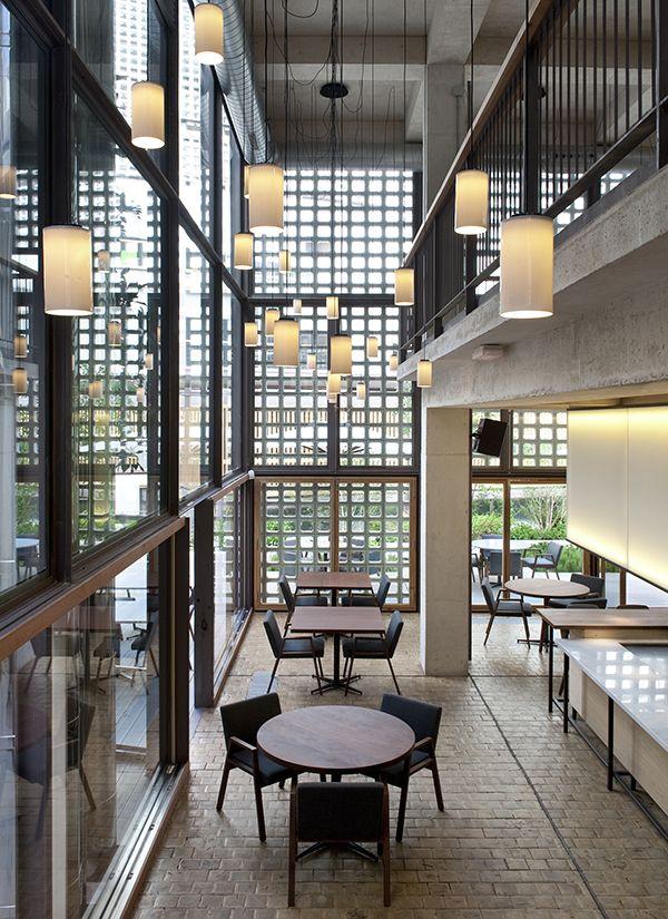 El restaurante bosco de lobos coloniza el coam espacios for Restaurante escuela de arquitectos madrid