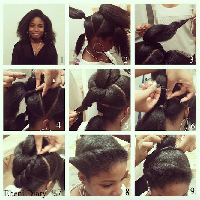 idée coiffure cheveux crépus naturels | Hairdos | Pinterest ...