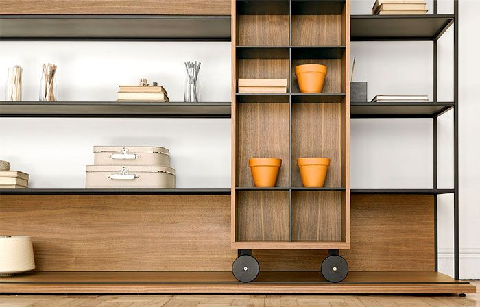 Literatura Open Bookcase by Punt Mobles literatura open bookcase 3