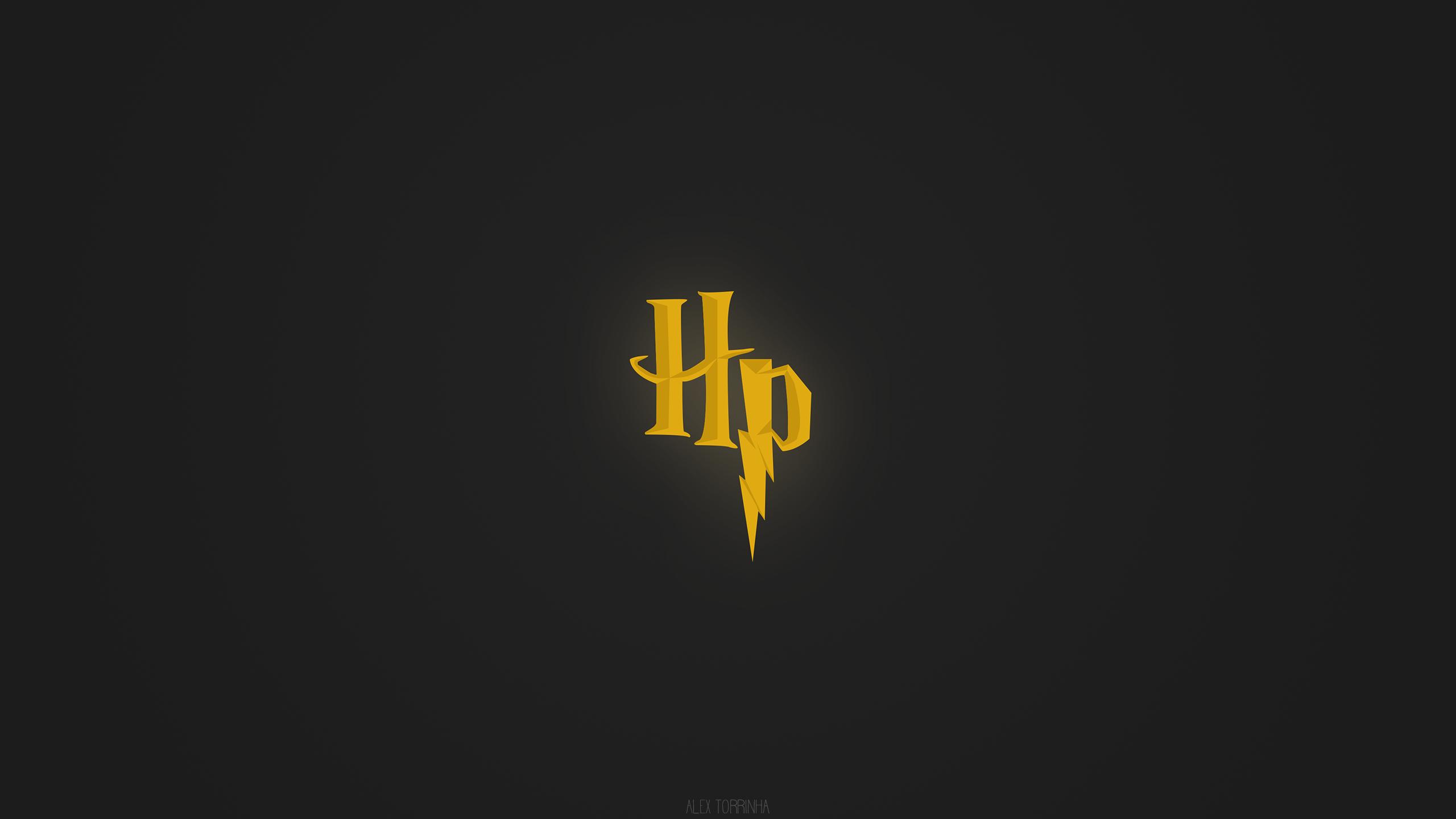 OC Harry Potter Minimalistic Wallpaper 2560x1440
