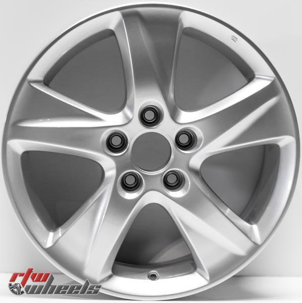"17"" Acura TSX Oem Replica Wheels For Sale 2009-2011 Silver"