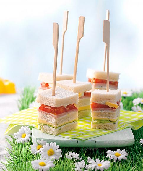 rezepte sandwich finger und partyfood pinterest fingerfood essen und h ppchen. Black Bedroom Furniture Sets. Home Design Ideas