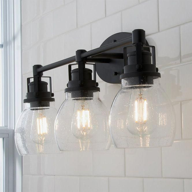 Photo of Soft Seed Vanity Light – 3 lights