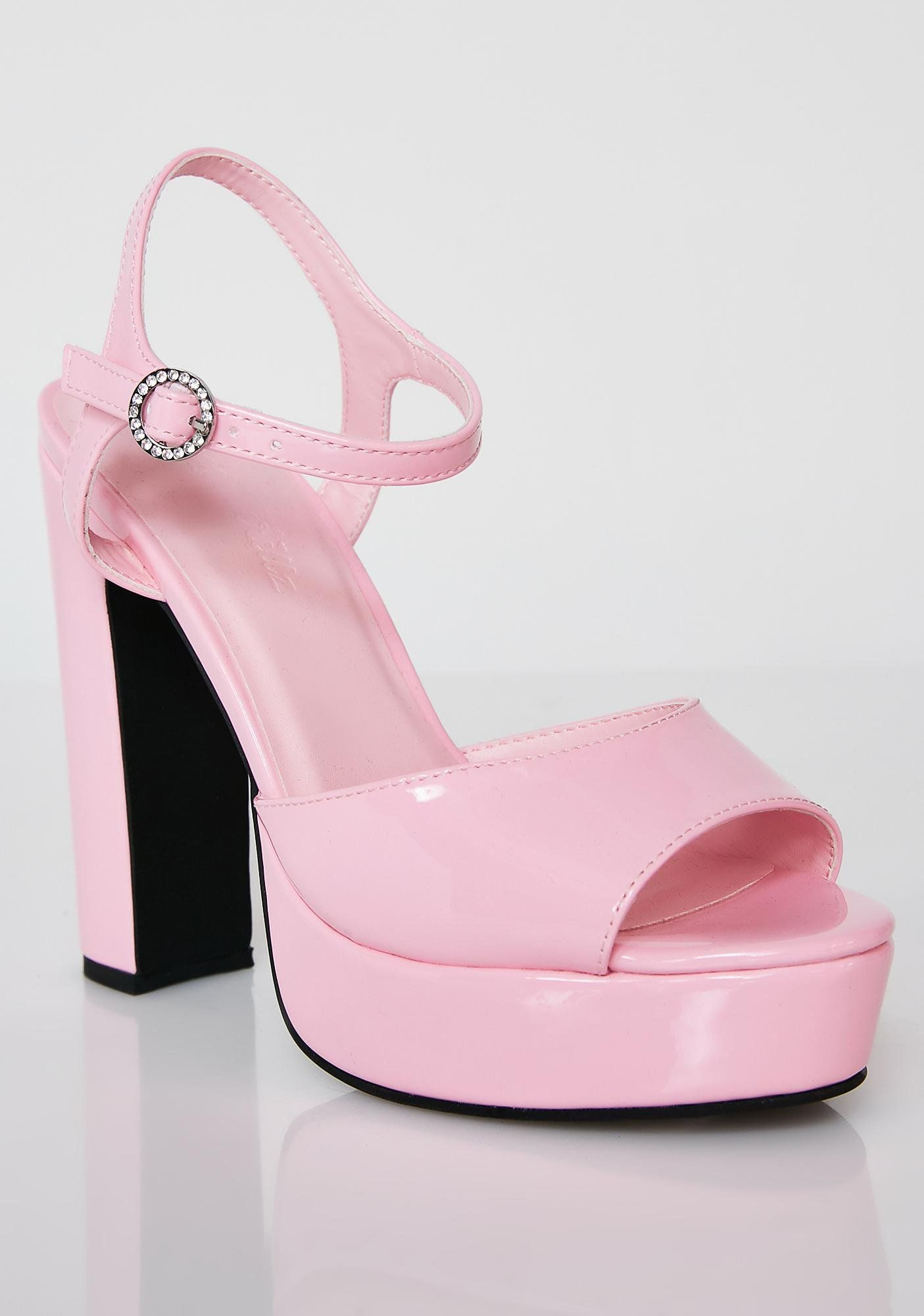 9176beb39b25 Sugar Thrillz Pretty Princess Platform Heels