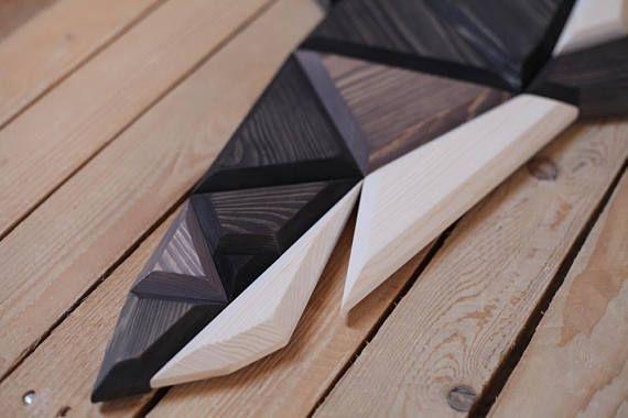 Decorazioni In Legno Per Pareti : Decorazione della parete in legno squalo nensole con pancali