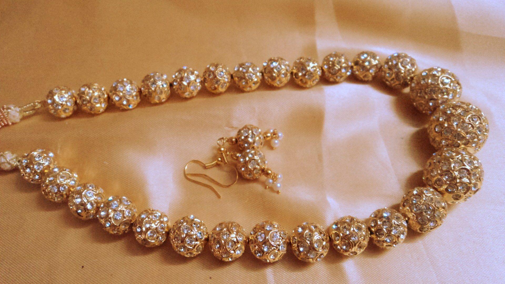 italian gold necklace designs - Google Search | BG Bride Jewellery ...