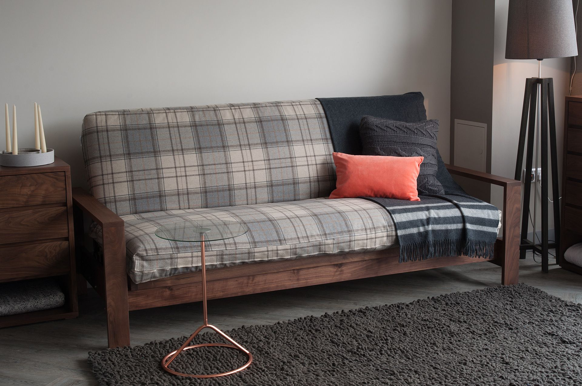 Quality Sofa Bed Uk Dacron Cushions Cuba Is A High Futon The Solid Hardwood