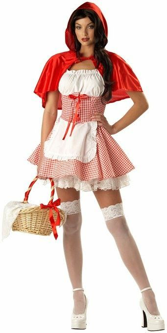California Costume Womenu0027s Adult-Miss Red Riding Hood Red/White S  sc 1 st  Pinterest & Costume Ideas for Women: Top Five Little Red Riding Hood Costumes ...