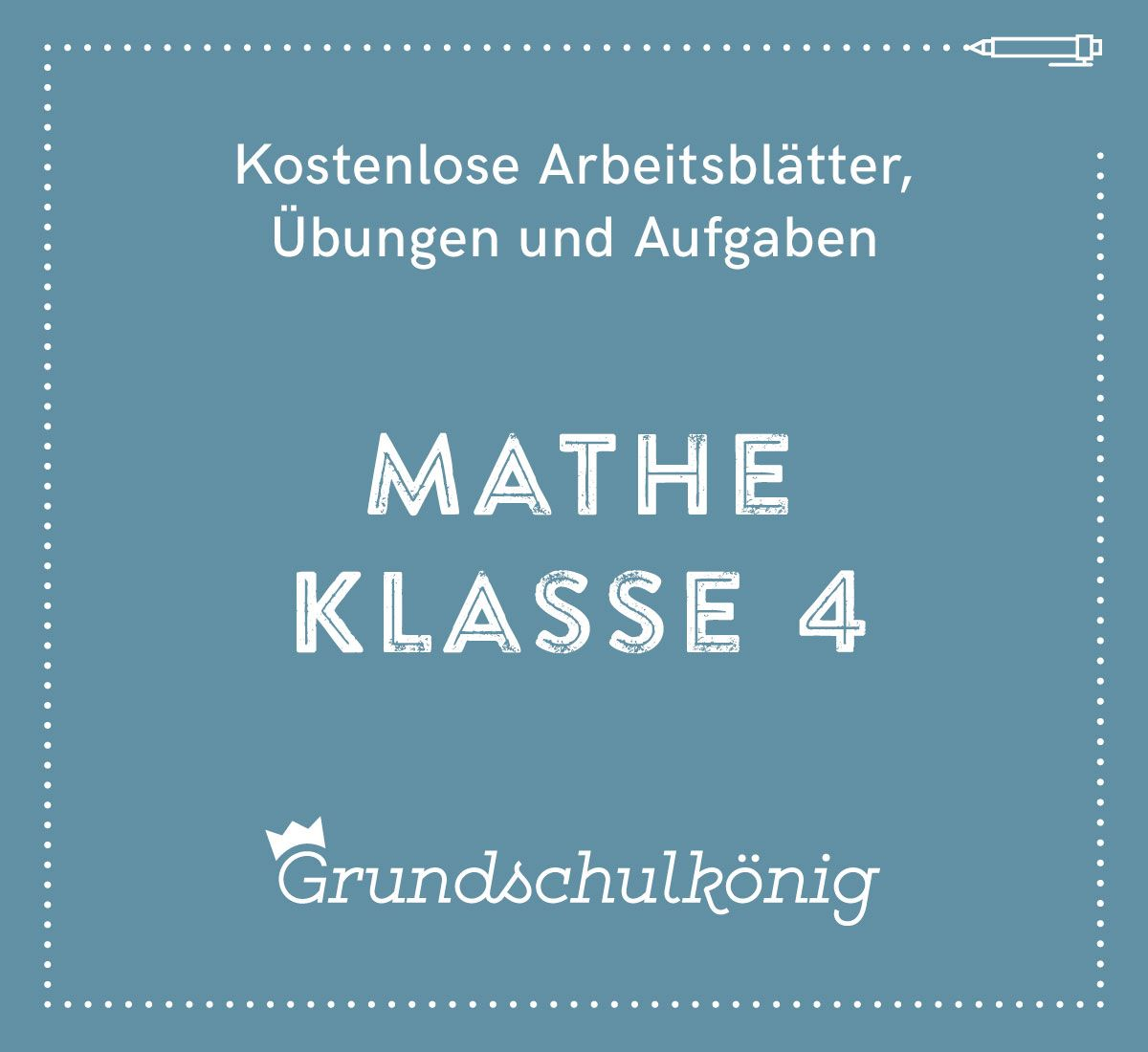 Kostenlose Übungen, Aufgaben und Arbeitsblätter für Mathe in der 4 ...
