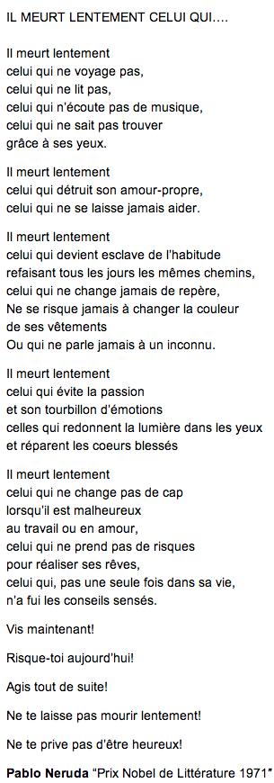Pablo Neruda Citation Citations Sur Les Mots Je Pense A Toi