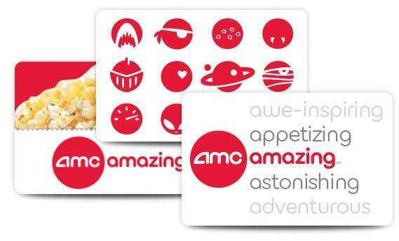 AMC Gift Card I Love Movies Even A Ticket To Go An