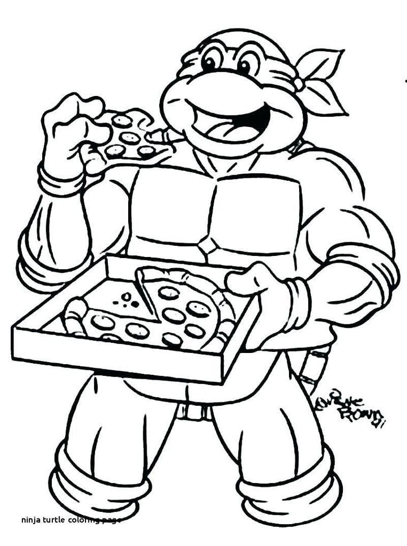 Donatello Ninja Turtle Coloring Pages Ninja Turtle Lembar Mewarnai Warna
