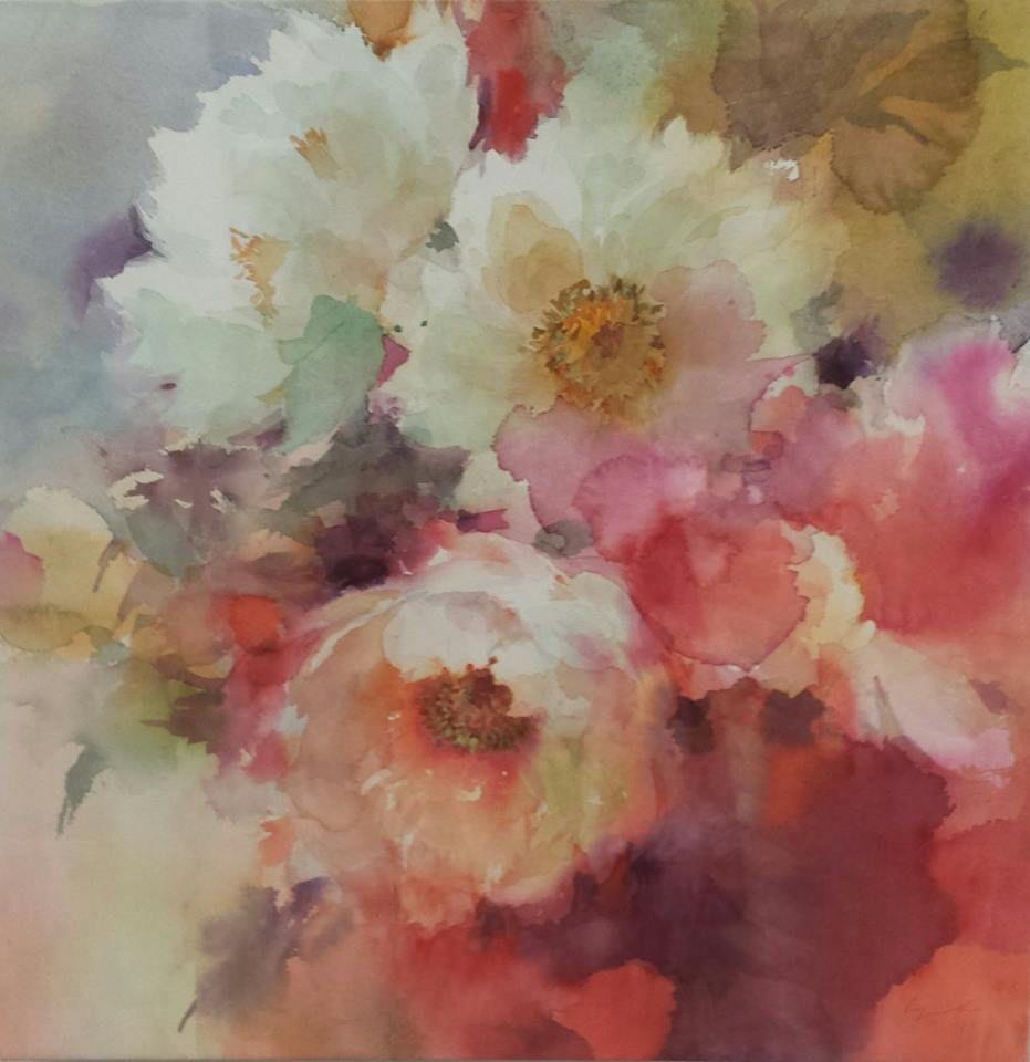 Yuko Nagayama In 2020 Floral Watercolor Watercolor Flowers