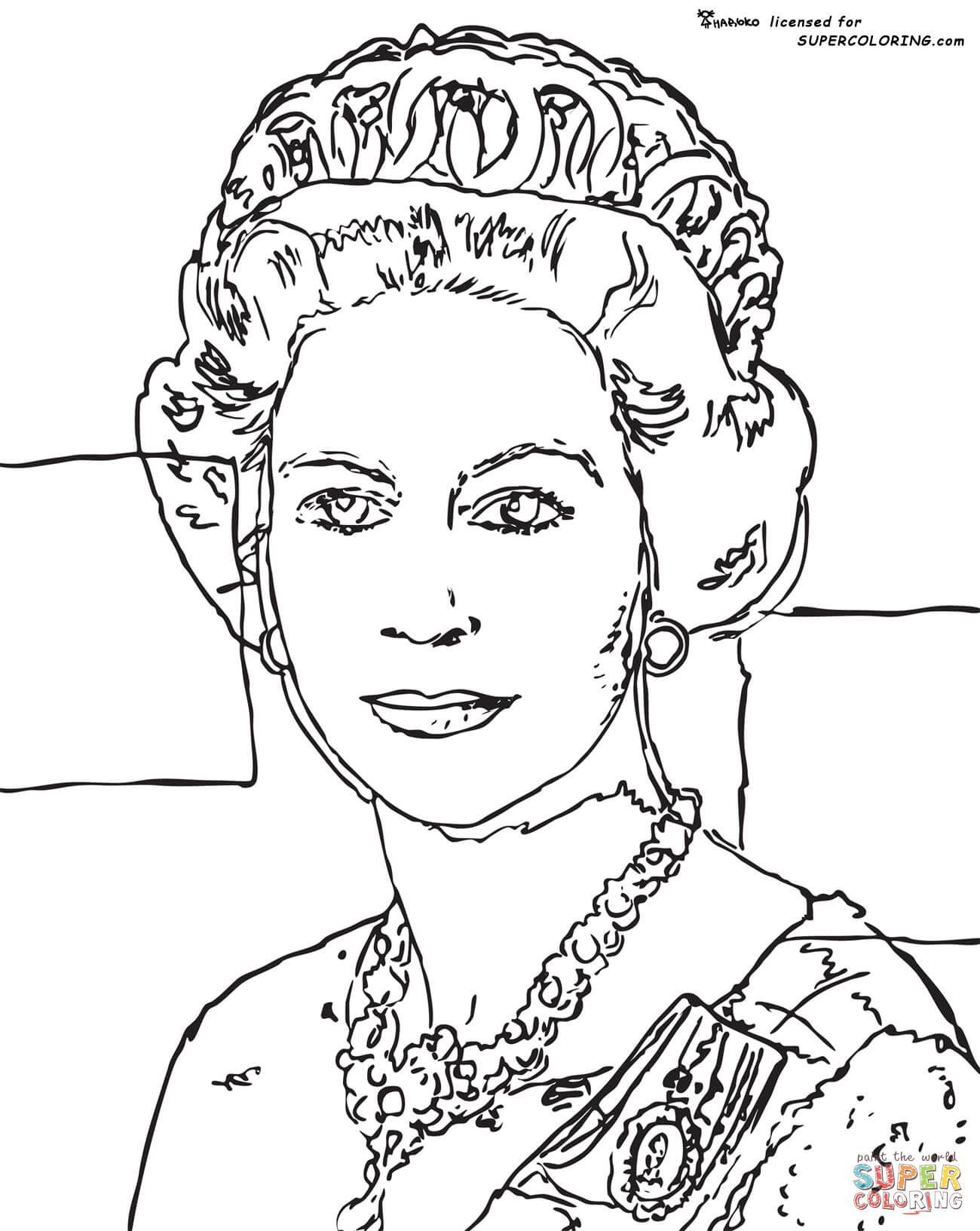 Queen Elizabeth By Andy Warhol