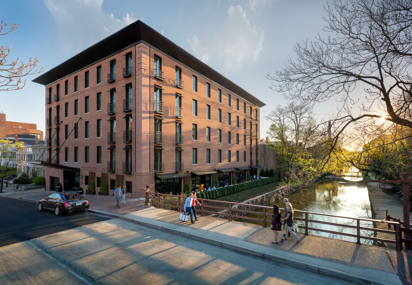 Capella Georgetown The Washington D C Outpost Of International Hotel Chain Is