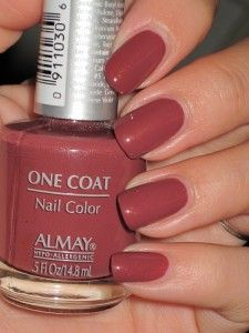 Almay - Luscious.....love | Beautimous | Nails, Nail Polish, Nail colors