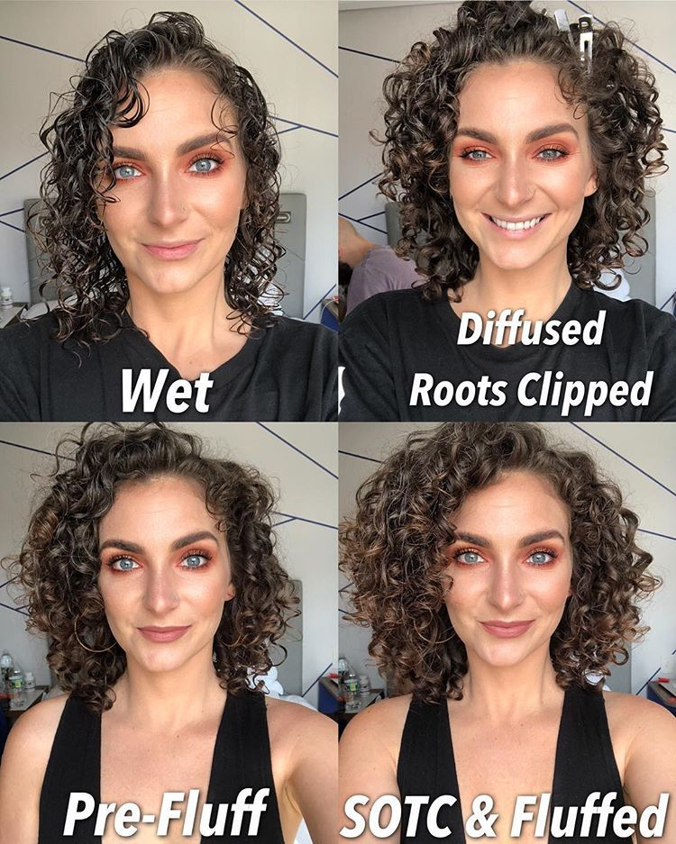 48++ Cut curly hair wet or dry inspirations