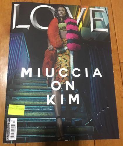 #Popular - LOVE magazine KIM KARDASHIAN.S/S 2015 West By STEVEN KLEIN.brand  http://New.buy It Now http://dlvr.it/MjlSmH - http://Ebaypic.twitter.com/ERQsfXNZPQ
