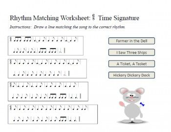 New Rhythm Worksheets 6 8 Time Signature Music Theory Worksheets Teaching Music Music Theory Worksheets Free Printable