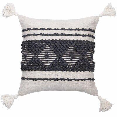 Bungalow Rose Shawnee Cotton Throw Pillow Cotton Throw Pillow Throw Pillows Pillows