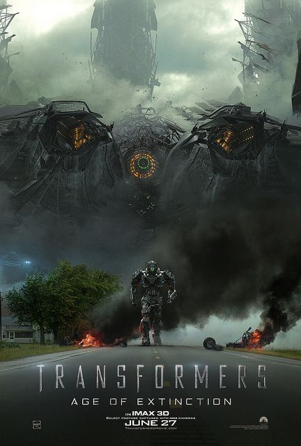 Transformers 4 Imax Poster Transformers Age Transformers Age Of Extinction Transformers Movie