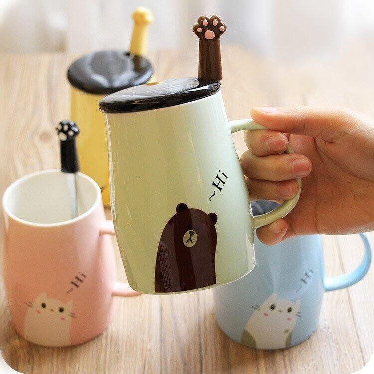 "Cute kawaii cat ceramic cup SE10176      Coupon code ""cutekawaii"" for 10% off"