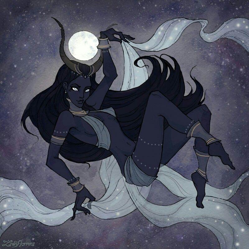 a748a283e Nut diosa de la oscuridad