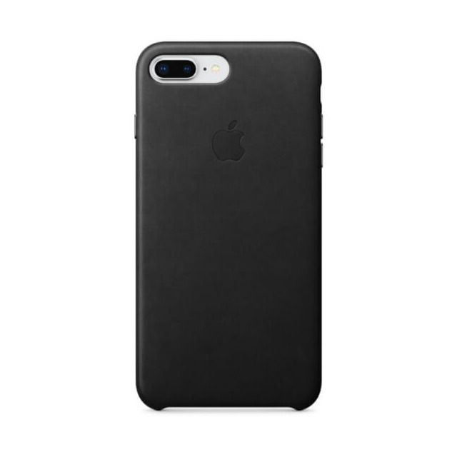 Funda Apple Leather Case Negra Para IPhone 8 Plus/7 Plus
