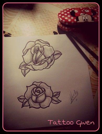 diseño rosas por Gwen