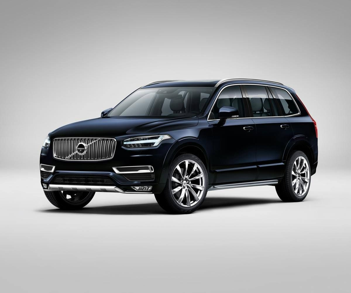 Volvo Xc90 Magic Blue Eerste Auto Auto Auto S
