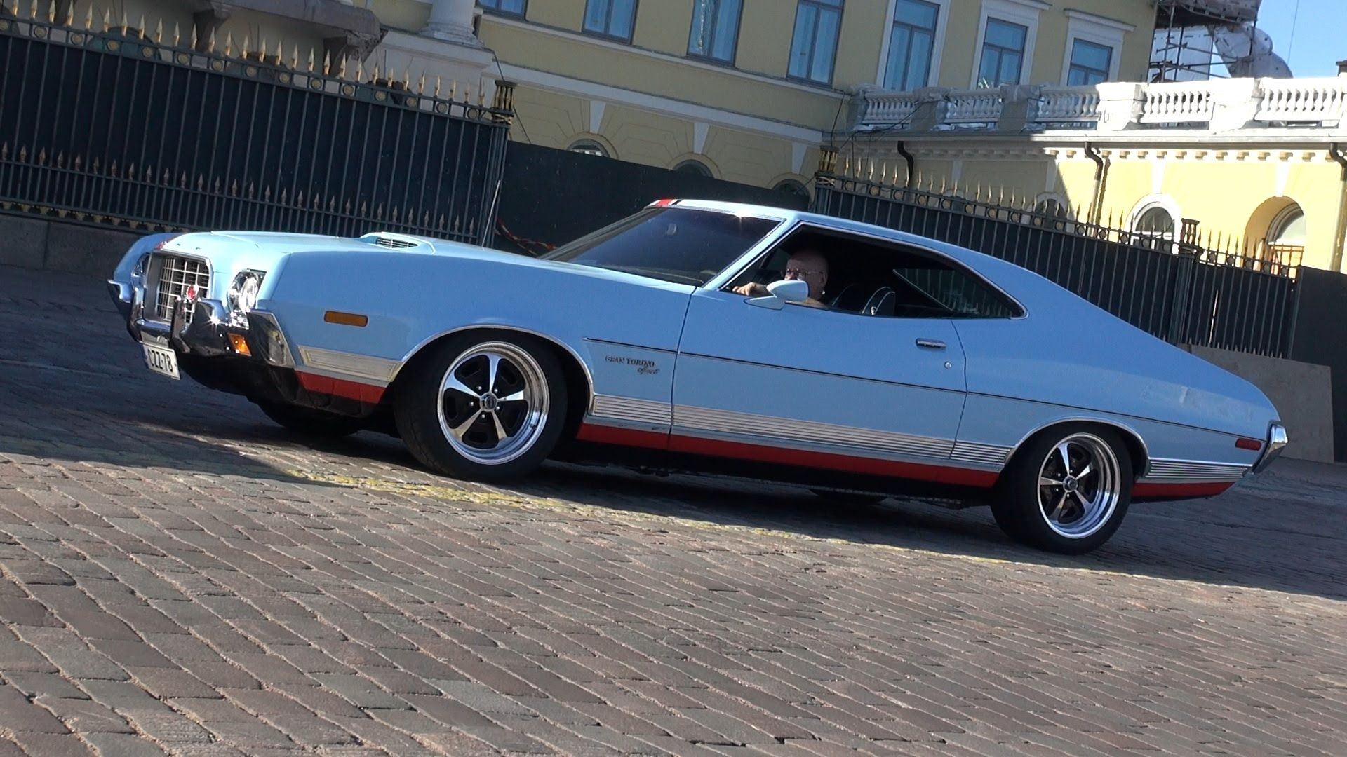 1972 Ford Gran Torino Sport Startup And Great Exhaust Sound