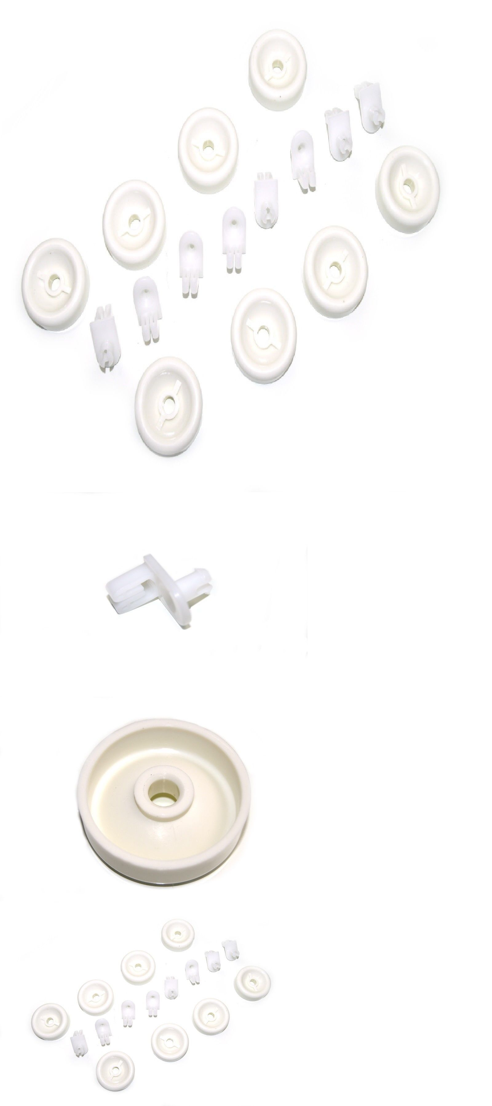 Wd35x21038 Dishwasher Rack Roller Wheels 8 Pack For Ge Frigidaire Dishwasher Ebay Frigidaire Dishwasher Dishwasher Racks Dishwasher Parts