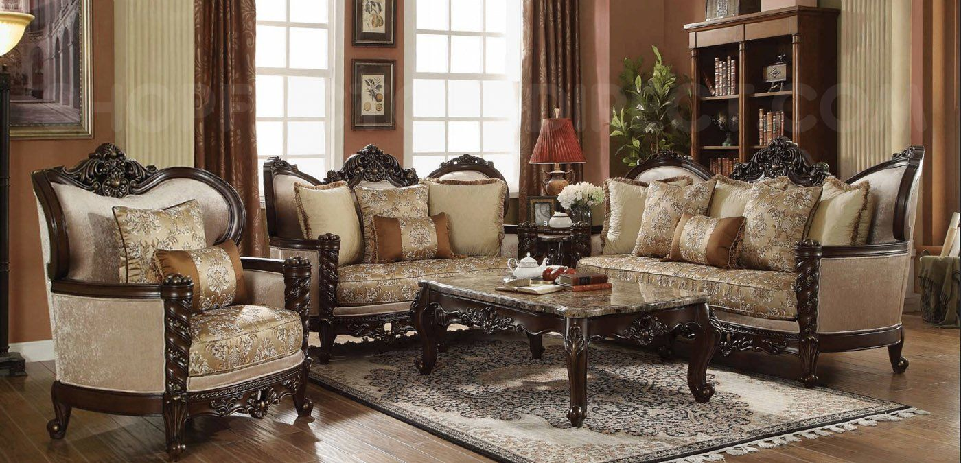 Victorian Antique Style Luxury Living Room Furniture Sofa Set Luxury Sofa Living Room Living Room Sofa Set Luxury Furniture Living Room