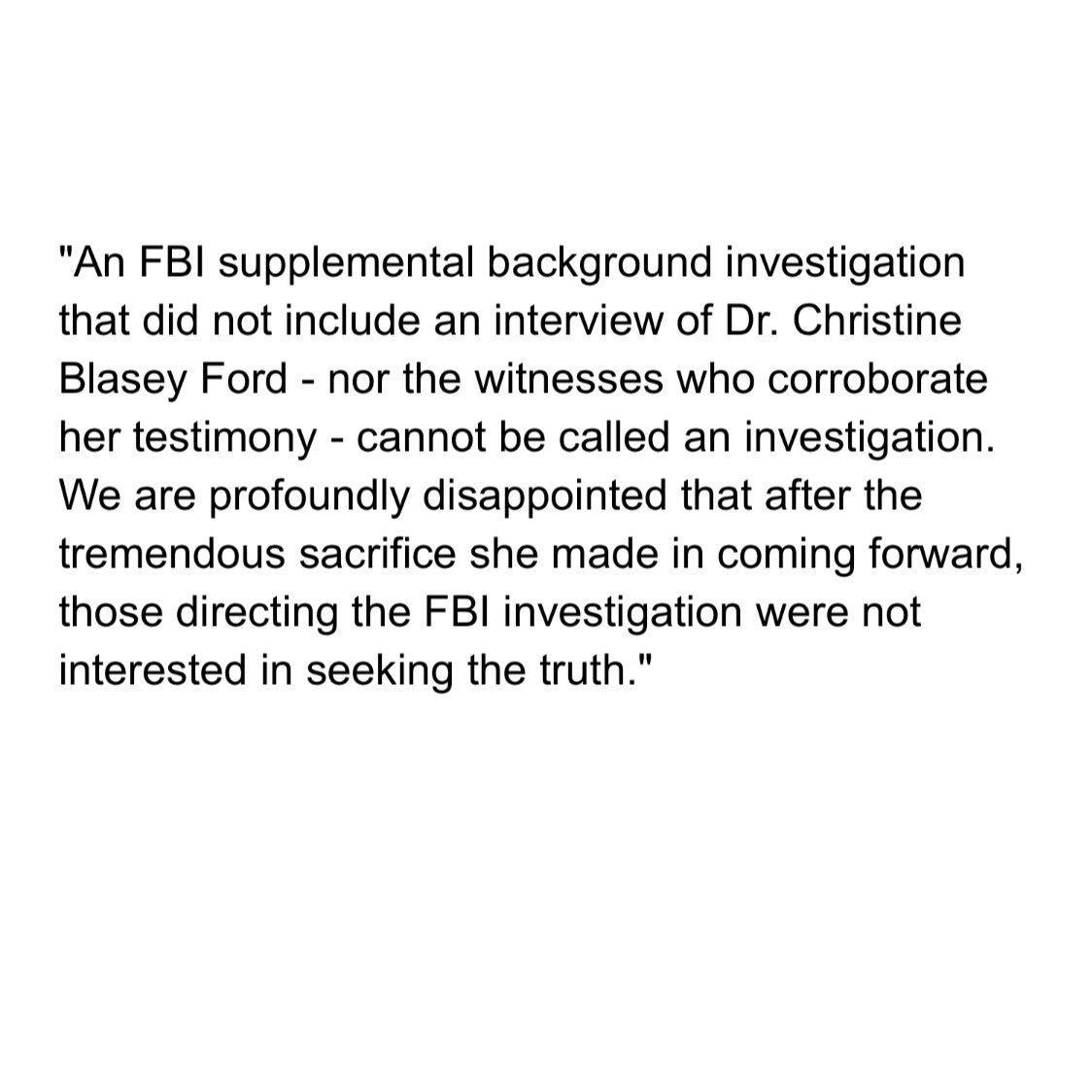 Yashar Ali On Investigations Ford Disappointment