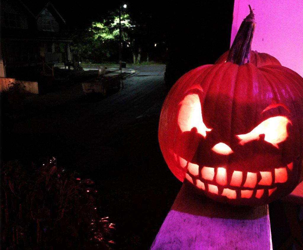 Jack o lantern #sagetosilver