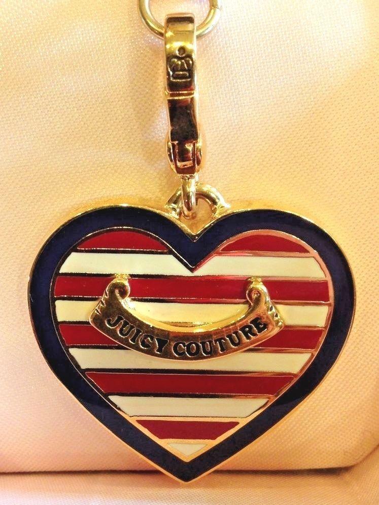 0b7bbe8f617 JUICY COUTURE NAUTICAL HEART CHARM RARE!!!! | eBay | JUICY CHARM ...