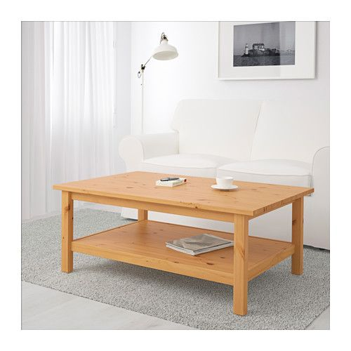 Hemnes Coffee Table Light Brown 118x75 Cm: HEMNES Mesa De Centro - Marrón Claro - IKEA