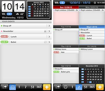 The Best Calendar Apps For Iphone All Under A Dollar Calendar