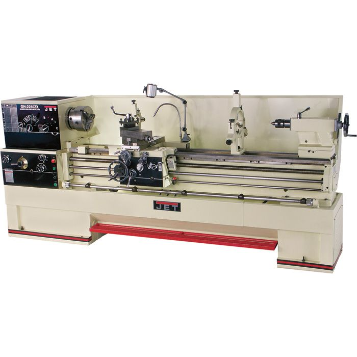 FREE SHIPPING — JET ZX Metal Lathe — 22 x 80, Model# GH-2280ZX | Lathes| Northern Tool + Equipment